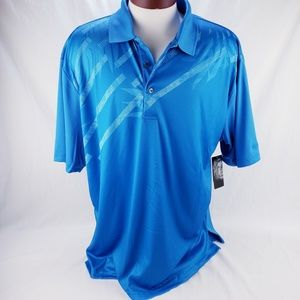 Men's Athletic Golf Polo by Ben Hogan Light Blue